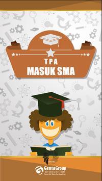 TPA Masuk SMA poster