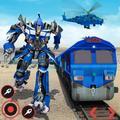 Real Train Robot Transformation 2020