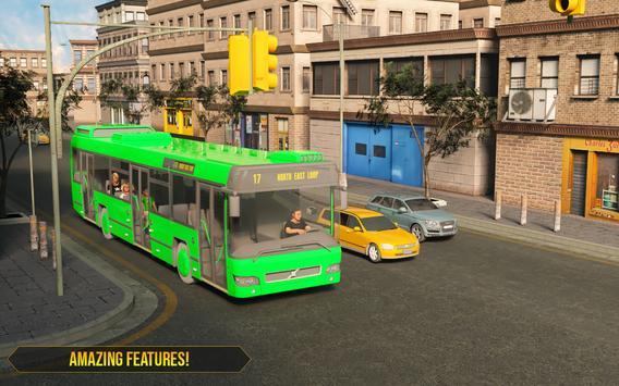 City Coach Bus Driving Simulator 2019 screenshot 1