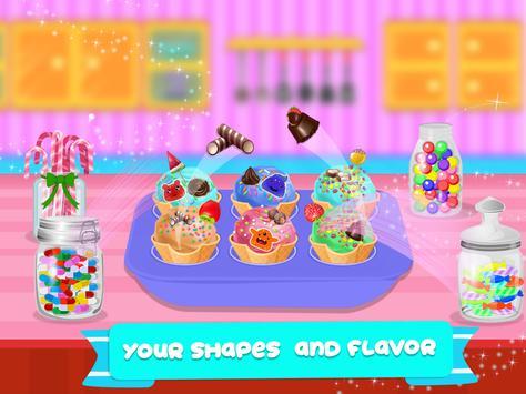 Cone Icecream Cupcake Maker Chef screenshot 10
