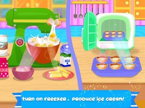 Cone Icecream Cupcake Maker Chef screenshot 11