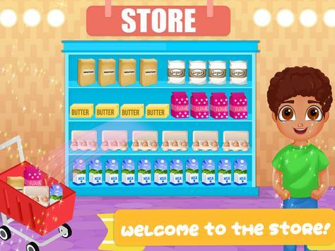 Cone Icecream Cupcake Maker Chef screenshot 3