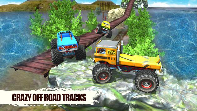 US Offroad Monster Truck 4x4 Extreme Racing Drive screenshot 2