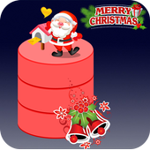 Crazy Santa Claus Jump: Merry Christmas Special 3D icon