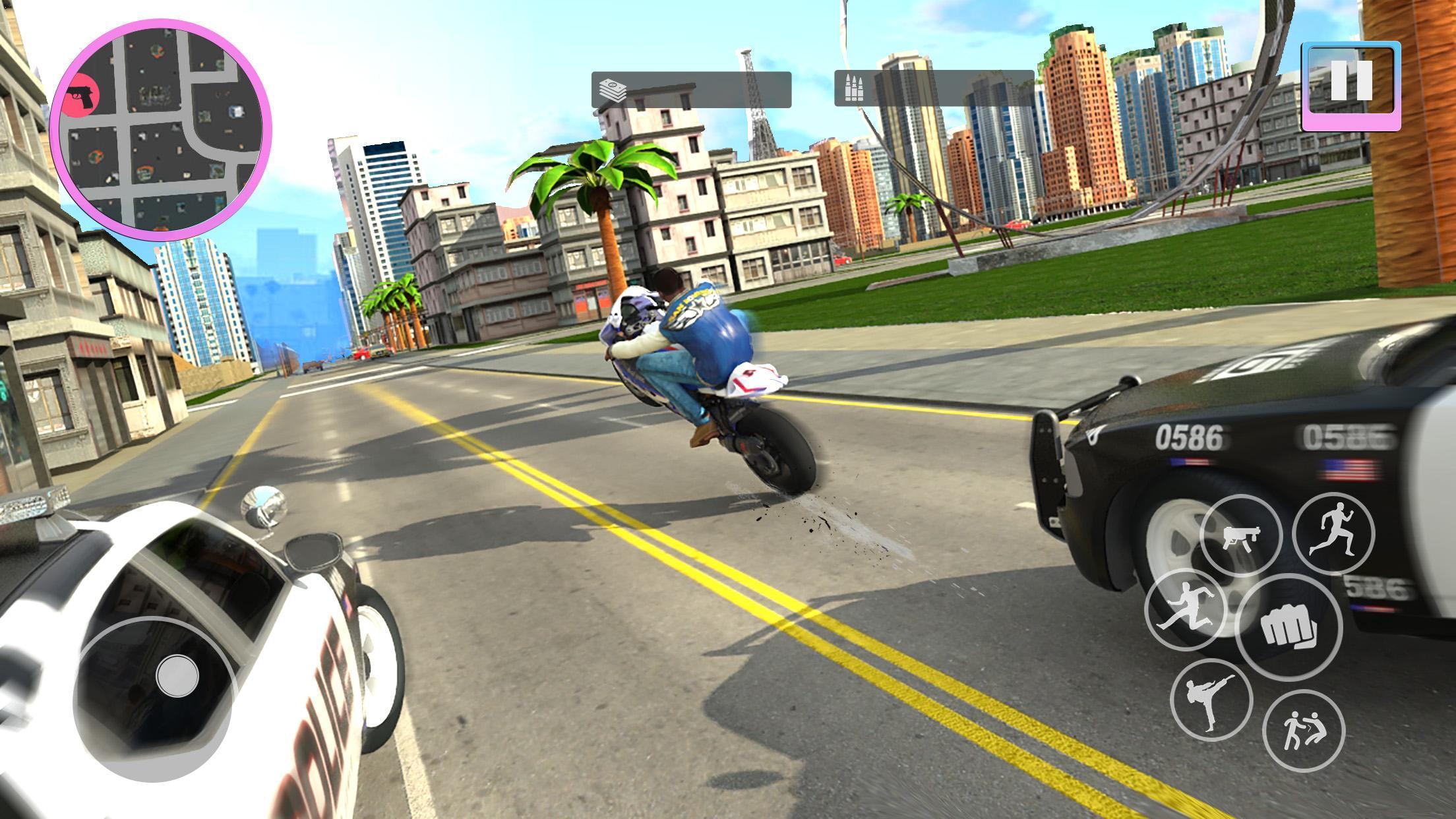 Grand City Robbery Crime Mafia Gangster Kill Game for
