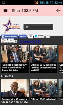 Ghana News App screenshot 13