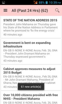 Ghana News App screenshot 11