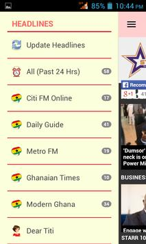 Ghana News App screenshot 1