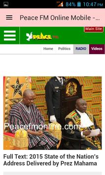 Ghana News App screenshot 2