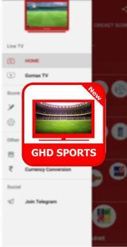 Guide For GHD SPORTS - Free Live TV Hd screenshot 1