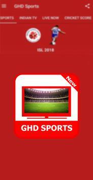 Guide For GHD SPORTS - Free Live TV Hd screenshot 2