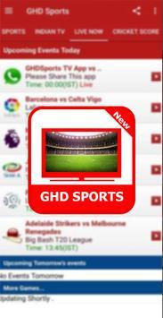 Guide For GHD SPORTS - Free Live TV Hd screenshot 3