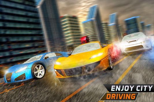 Roadway Car Racing: Endless Drive captura de pantalla 4