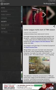 Palm Beach Daily News screenshot 11
