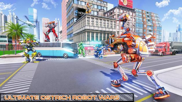 Ostrich Robot Car Transform War screenshot 2