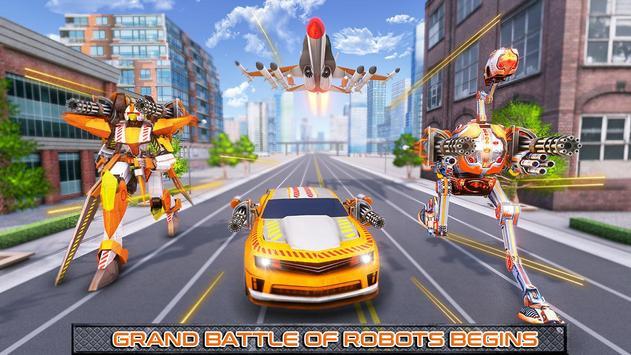 Ostrich Robot Car Transform War screenshot 9