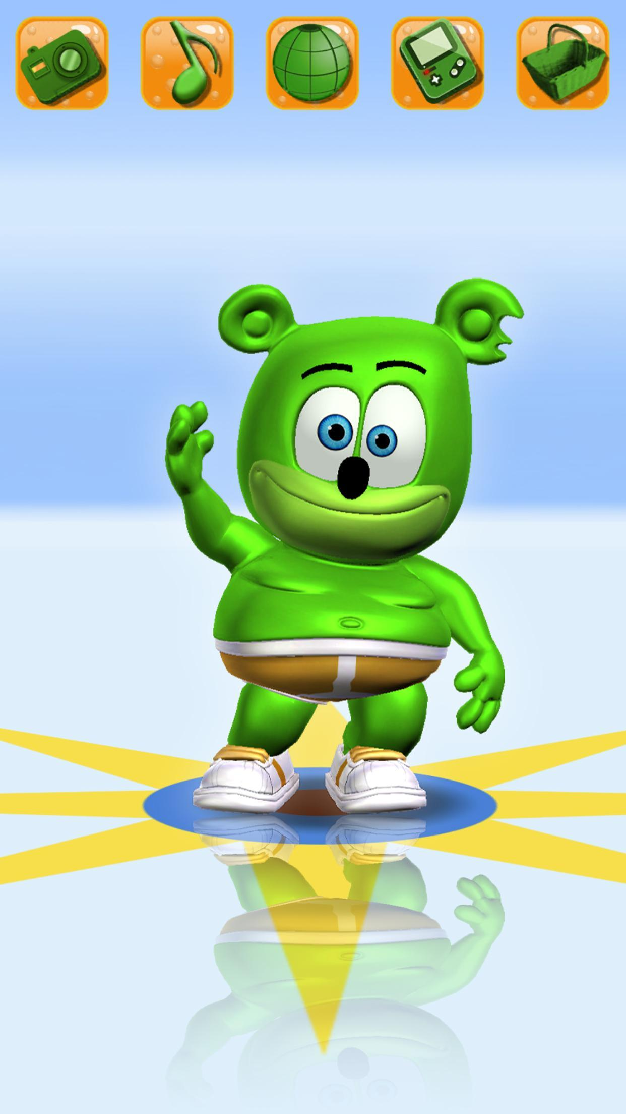 Talking Gummy Free Bear Games For Kids For Android Apk Download