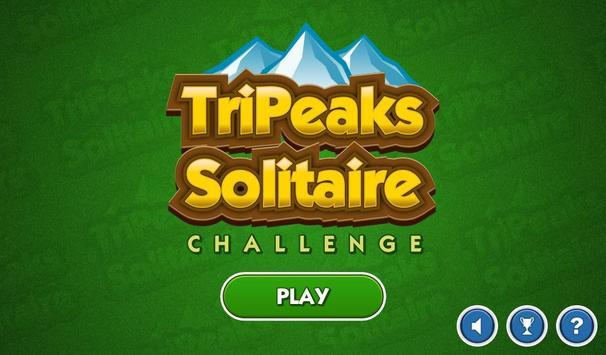 TriPeaks Solitaire Challenge 截图 1