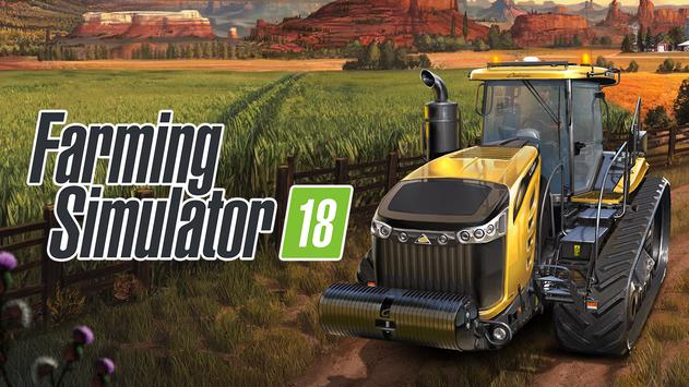 Farming Simulator 18 海報