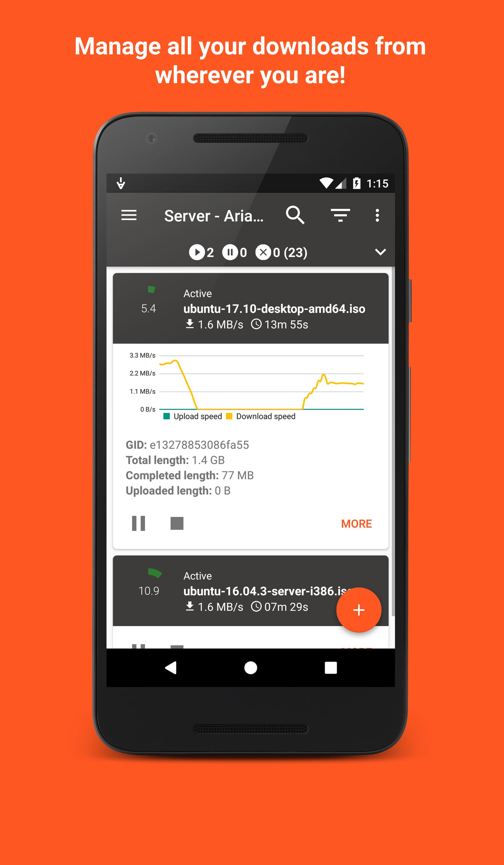 Aria2App for Android - APK Download