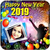 Happy New Year 2019 Frames icon