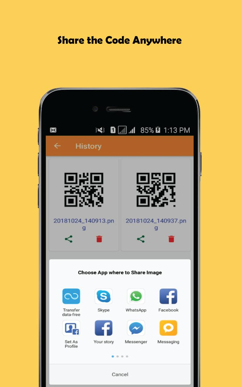 QR Code Generator ( Create QR ) for Android - APK Download