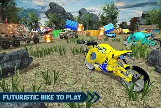 Futuristic Bikes Battleground screenshot 2