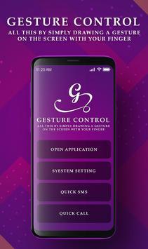 Gesture Mobile  SImple Control screenshot 1