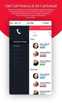 Get Call History & All Call Detail screenshot 1