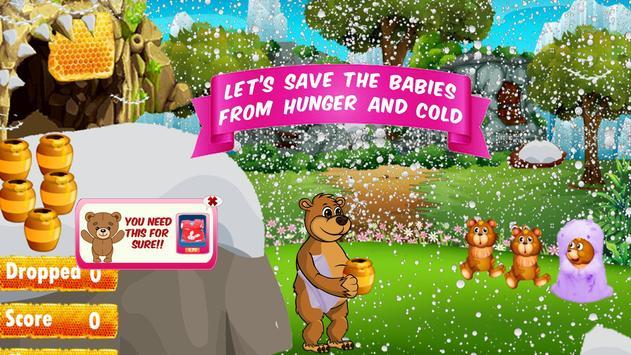 Feed Baby Bear screenshot 13