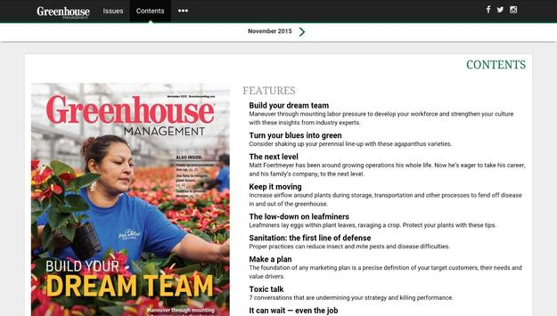 Greenhouse Management Magazine screenshot 4