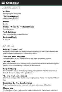 Greenhouse Management Magazine screenshot 7