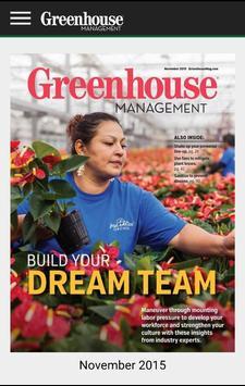Greenhouse Management Magazine poster