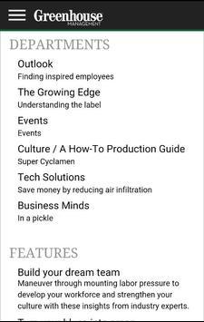 Greenhouse Management Magazine screenshot 1