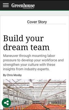 Greenhouse Management Magazine screenshot 2