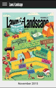 Lawn and Landscape Magazine الملصق