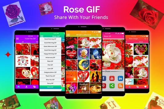 Rose GIF screenshot 5