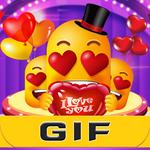 Love Emoji Gif For WhatsApp APK