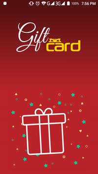 Gift Card poster