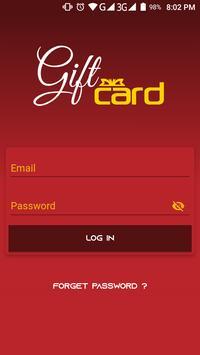 Gift Card screenshot 2