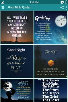Good Night Quotes poster