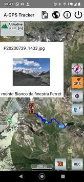 A-GPS Tracker captura de pantalla 6