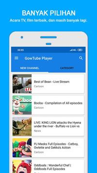 GowTube - Nonton Video, Tv & Live Streaming poster
