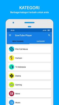 GowTube - Nonton Video, Tv & Live Streaming screenshot 1