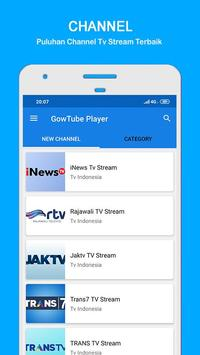 GowTube - Nonton Video, Tv & Live Streaming screenshot 3