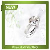 Couple of Wedding Rings icon
