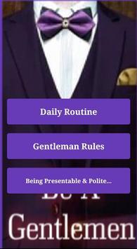 Personality Grooming Gentleman poster