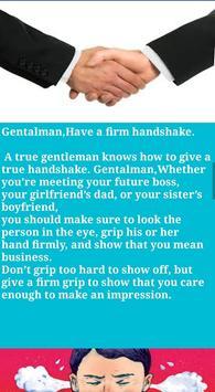 Personality Grooming Gentleman screenshot 2