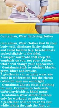 Personality Grooming Gentleman screenshot 3