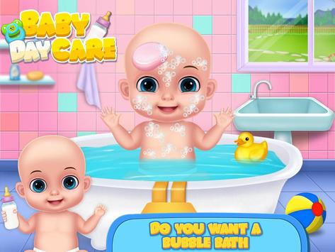 Babysitter Daycare Games & Baby Care and Dress Up poster